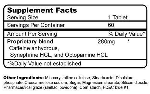 PhenTabz Ingredients